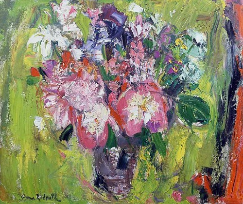 Anne Redpath Still Life with Lilies 21st century