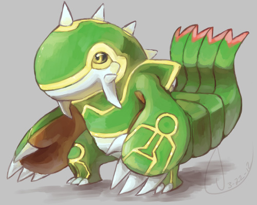 victoriavonzipper:  It's Kyogre, Groudon, and Rayquaza combined!