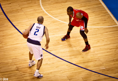 Changing Of The Guards The Past vs The Present: Jason Kidd vs Chris Paul  Mavericks Vs Clippers, American Airlines Center, Dallas