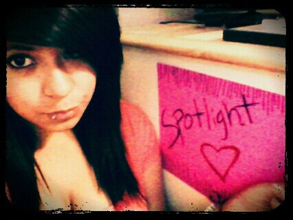 Thanks to Jessica From Texas!!! Spotlight's sign!!! :D