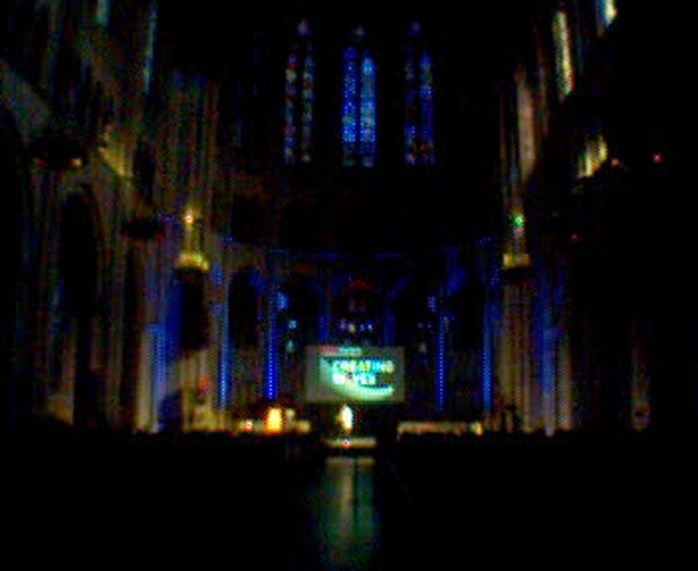 The beautiful riverside church was a perfect venue for TEDxHarlem 2012.