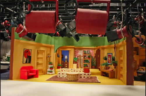 Cool!!! :P vintage-visuals:  Three's Company Behind the Scenes/ Set.
