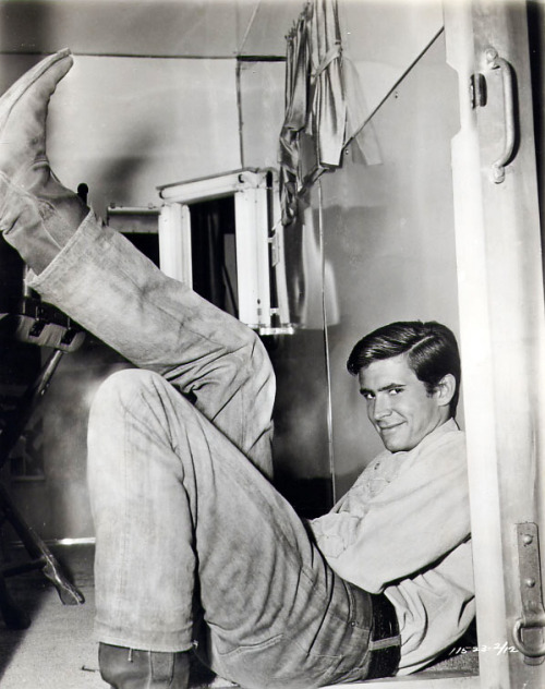 theniftyfifties:  Anthony Perkins, 1956.