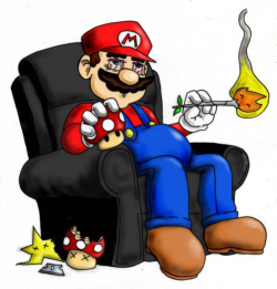 lordofthesmokerings:  Mario's day off
