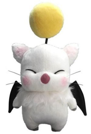 Get this Moogle a cocktail. He looks too sober to be The Drunken Moogle.  Moogle Plushie from GKWorld