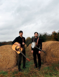 crushculdesac:  The Avett Brothers, Seth and Scott, on their family farm in Concord, North Carolina | 5 Years of Garden & Gun Photography | David McClister