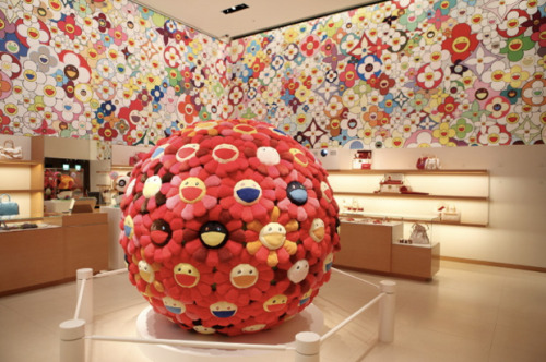(via Takashi Murakami for Louis Vuitton Omotesando Store Design | Hypebeast)