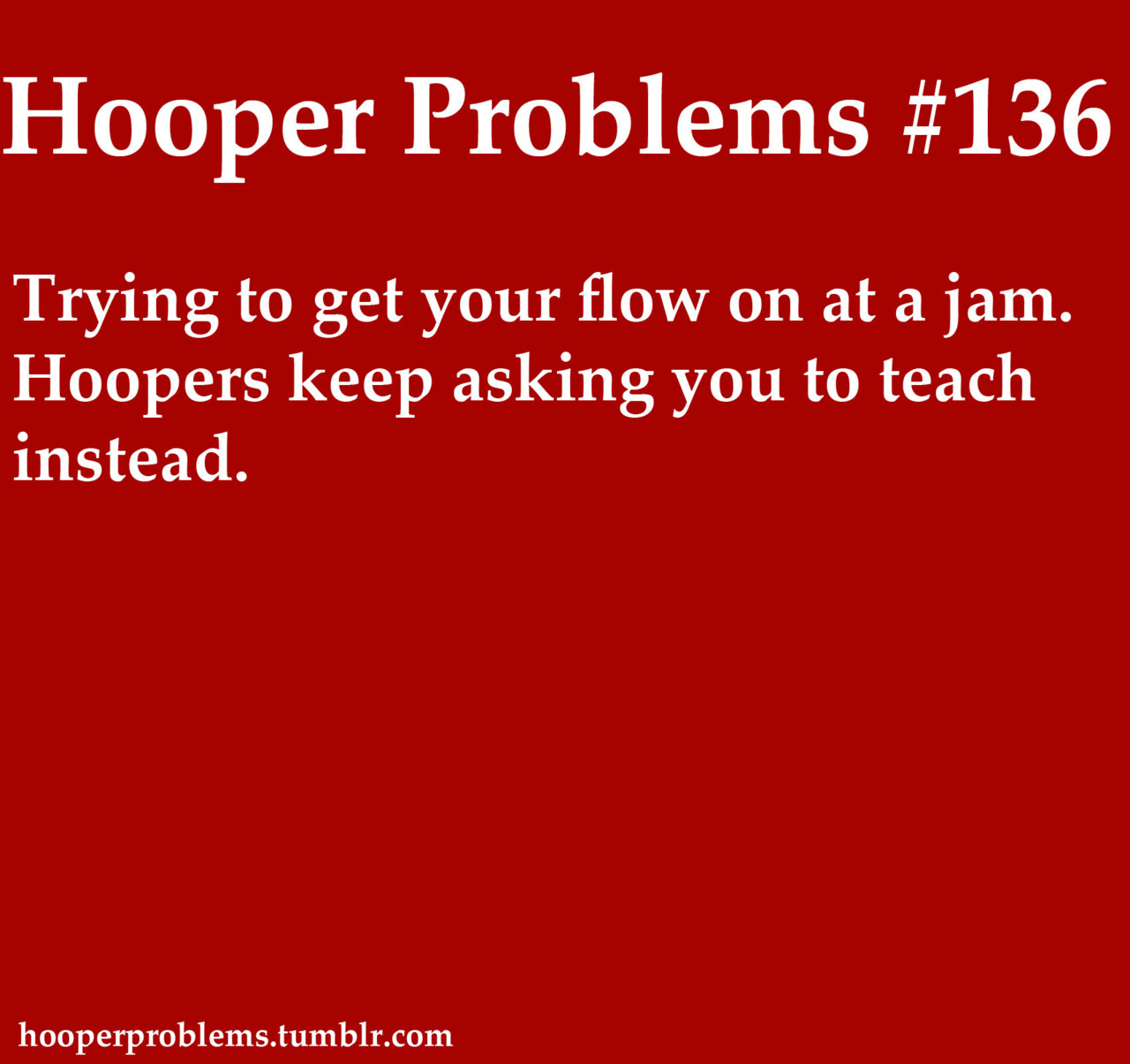 My submission to HooperProblems.tumblr.com.
