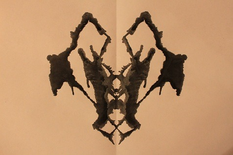 inkblotoftheday:  Inkblot of the Day #55 Instructions: Tell me what you see. Apology: My apartment had internet issues this evening so I drove to the library on the campus of CWRU and I'm currently outside using their wireless. That's how much I care about you guys… seriously, thank you so much for your responses and reblogs! -Enjoy  A praying mantis face. -Topknot
