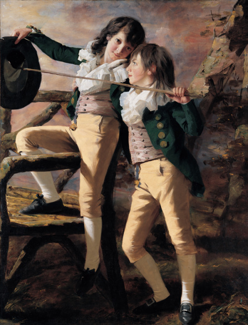 Henry Raeburn - The Allen Brothers  (c. 1792)