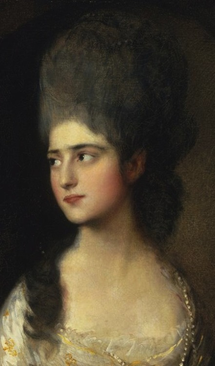 William Gainsborough - Elizabeth Anne Linley (c. 1775)