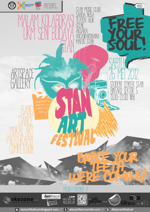 Final poster of STAN ART FESTIVAL!