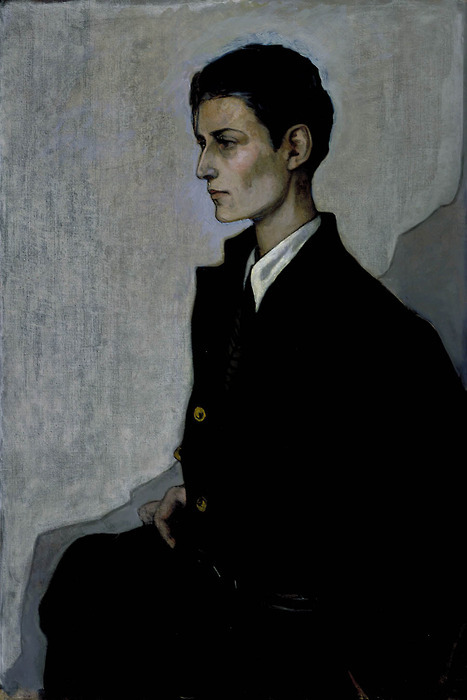 twocatsandatrombone: Romaine Brooks, Peter, A Young English Girl, 1923-24 (modelled by Gluck).