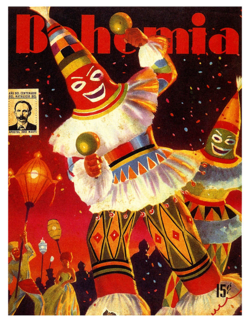 Carnival in Havana! (by paul.malon)  1953 Cuban magazine covers