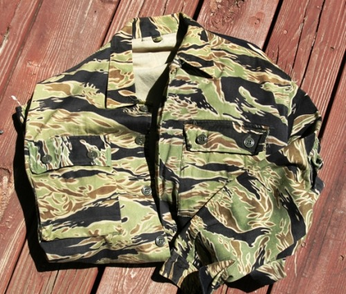 Golden Tiger Camouflage Print Jacket.