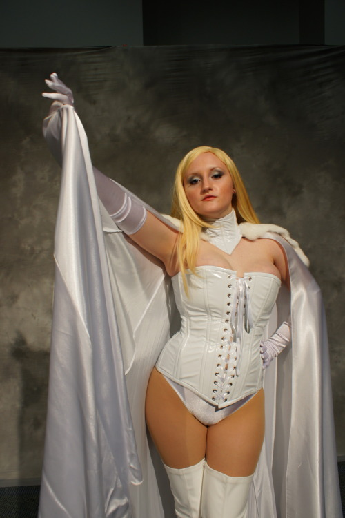 Diamond Dove of the Birds of 'Play as Emma Frost photo by Eurobeat Kasumi Photography Submitted by birdsofplay