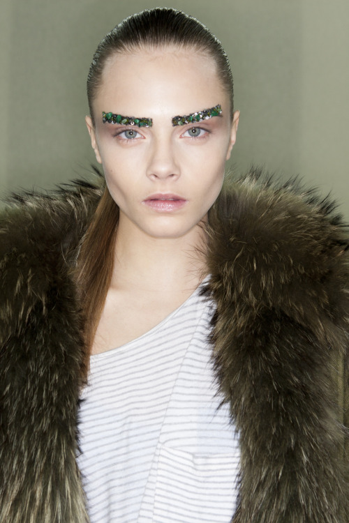 Cara Striker @ Chanel Paris Women's Fashion Week Fall 2012