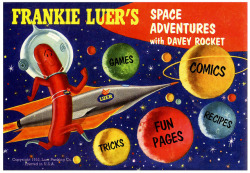 1955 … weiners in Space!! by x-ray delta one on Flickr.