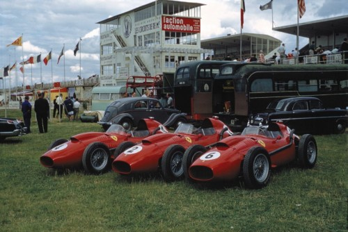 Ferrari 246 at the 1958 French Grand Prix