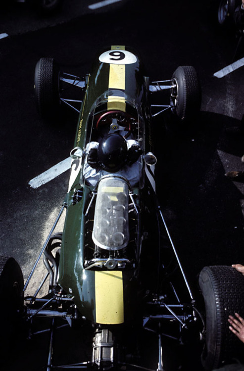 Jim Clark at the 1965 Dutch Grand Prix