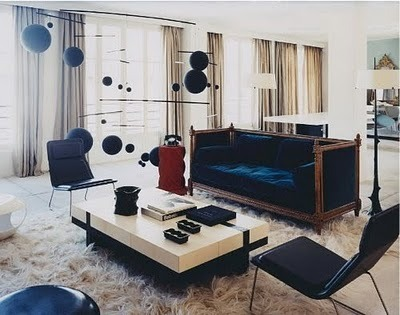Loving this modern interior with the floating Calder inspired mobiles, gently pushed around by the central air conditioning. Create the same magic and more in your home when you say Hello Aiello and get a central air conditioning hvac system installed by Aiello Home Services.