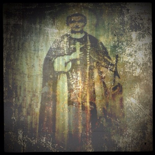 St Martin <> #emotionalorphan #iphoneography #iphonesia #instagram #antiqued #icon #religious (Taken with instagram)