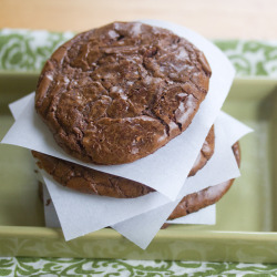 Chocolate Brownie Cookies.