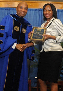 Albany State University Carmen Nicholson on Flickr.Albany State University junior Carmen Nicholson is on a roll. Since her arrival on campus two year ago, the 20 year old has earned straight A's for three consecutive semesters