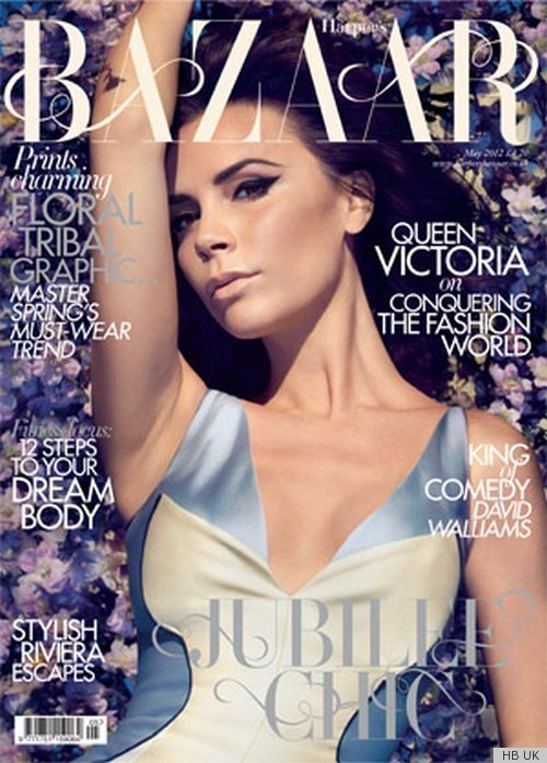 Victoria Beckham Covers Harper's Bazaar [UK], May 2012
