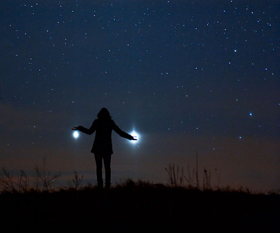 Jupiter and Venus from Earth Image Credit: Marek Nikodem (PPSAE)