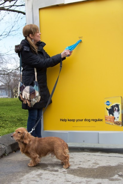 Pedigree: Poop Bags Bus Shelter