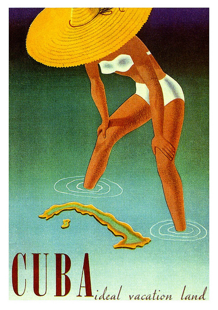 oldadvertising:  Cuba, the Ideal Vacation Land  by paul.malon on Flickr. Via Flickr: 1951.