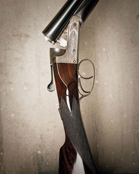 mossandmarsh:  A 12-gauge Watson Brothers shotgun (via G&G)