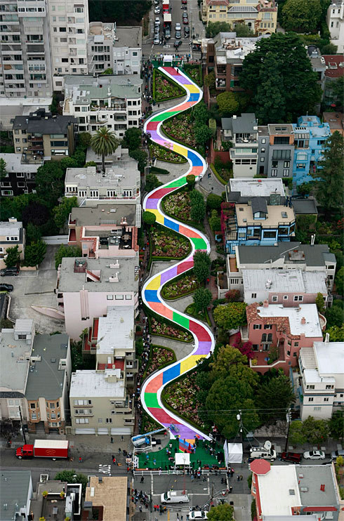 San Francisco plays 'Candyland'