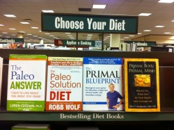Check out the best-selling diet book on the far right!!!! Go Nora!!