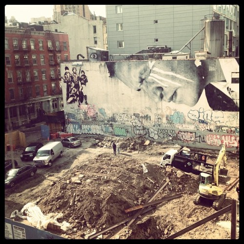 Construction in SoHo (Taken with instagram)