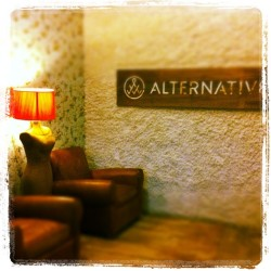 The lobby at Alternative HQ.