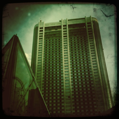 Tokyo Dome Hotel  John S Lens, Float Film, No Flash, Taken with Hipstamatic