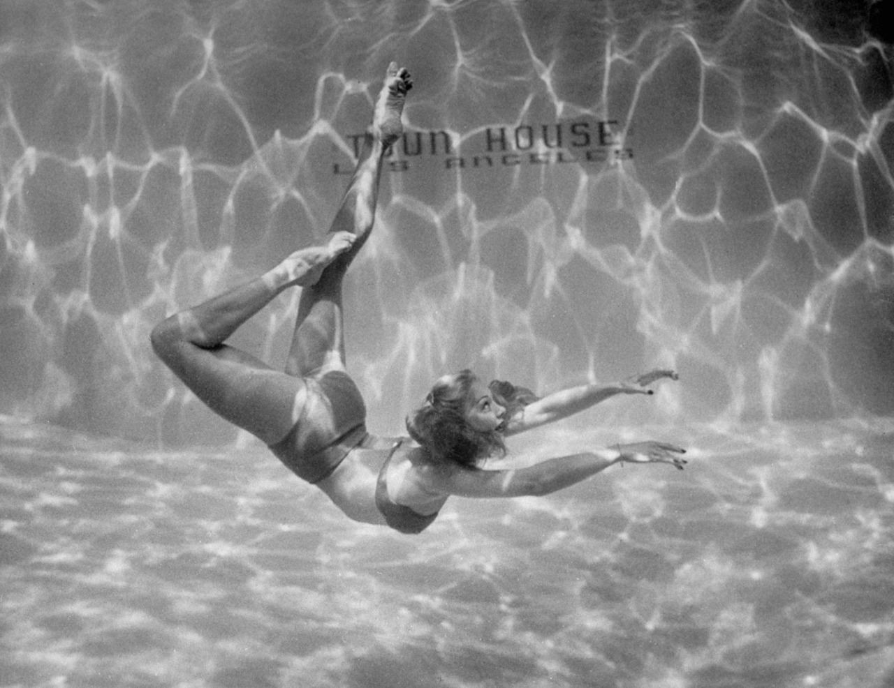 life:  Underwater ballet, 1945. See more here. (Walter Sanders—Time & Life Pictures/Getty Image)