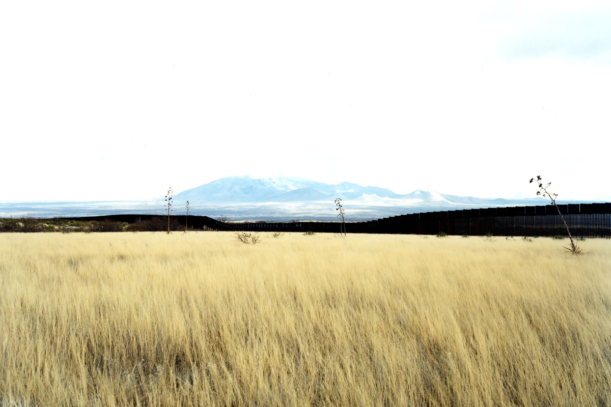 "Untitled, 2010, Border View South From Grasslands, Hereford, AZ, 39"" x 55"" Photography by Victoria Sambunaris / http://victoriasambunaris.com"