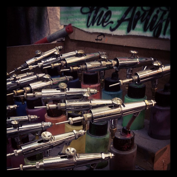 Airbrush fun (Taken with instagram)