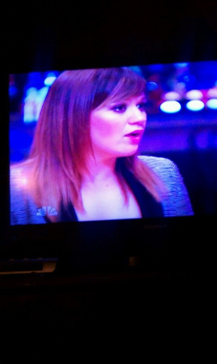 KC on The Voice <3 #Kelly #Clarkson