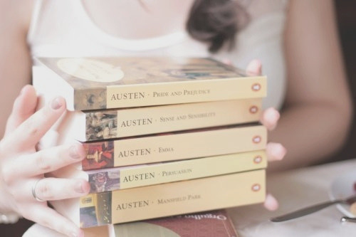 rainasmiles:  Jane Austen<3  We LOVE Jane Austen. <3