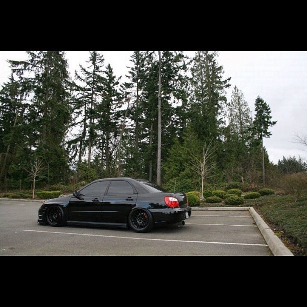 Been thinking about getting a four door  winner. #hellaflush #jdm #stance #static #subaru  (Taken with instagram)