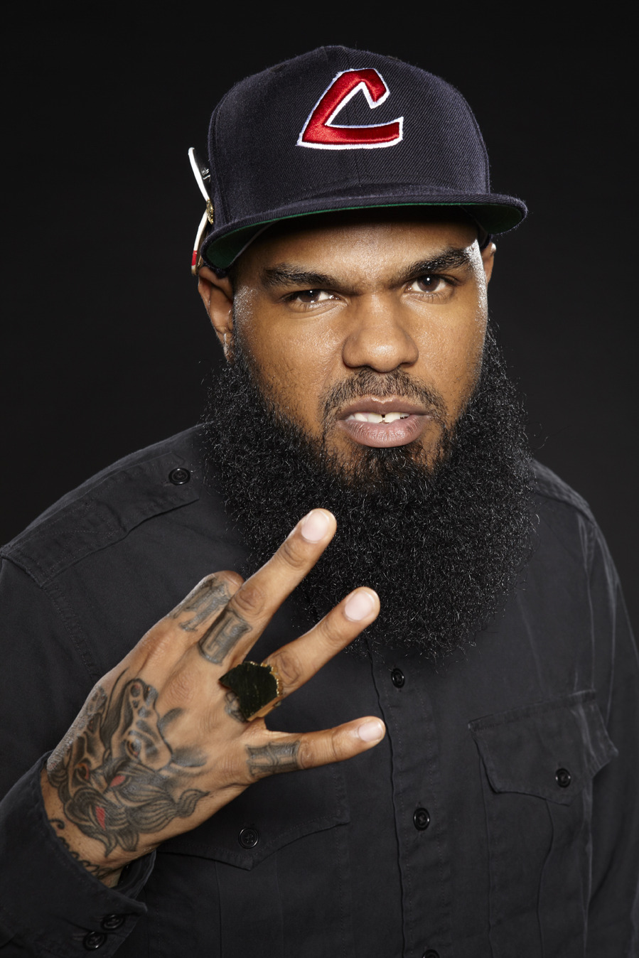 Here's a portrait I recently took of the rap artist Stalley for a project for Warner Bros.