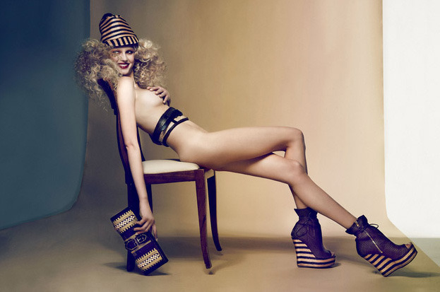 monsieur-j:  Sigrid Agren by Dusan Reljin for W Korea April 2012