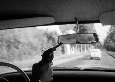 Breathless (1960, directed by Jean-Luc Godard).