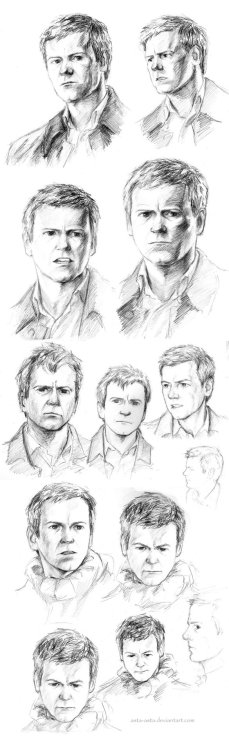 bakerstreetbabes:   Lestrade sketches by ~Asta-Asta  Jenn is just going to put this here.