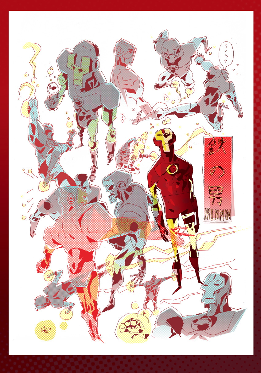 鉄の男 Ironman  By Anthony Holden tumblr  blog
