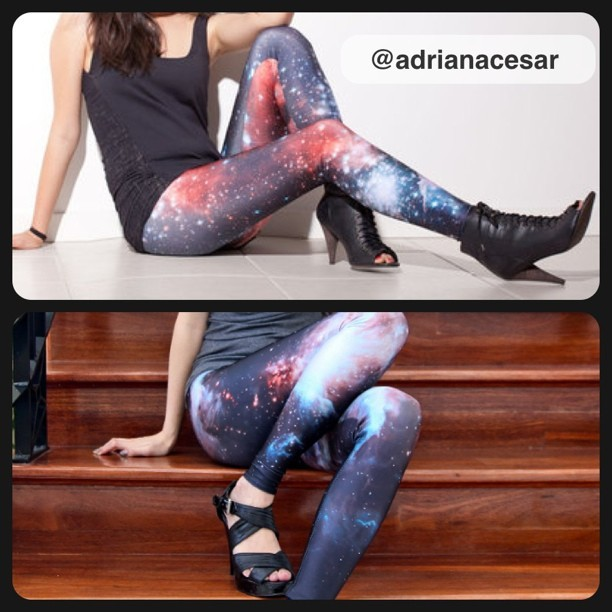 Infinity and Beyond #Want #Leggings #galaxy #fashion #HAWT #instagood #urban #style (Taken with instagram)